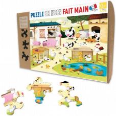puzzle 12 pièces bois