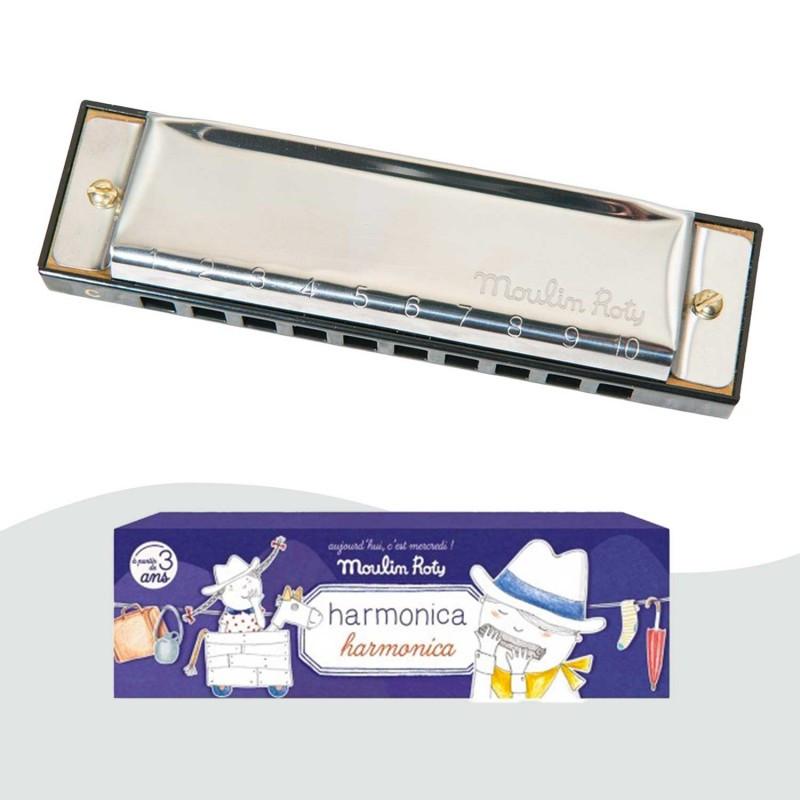 harmonica moulin roty