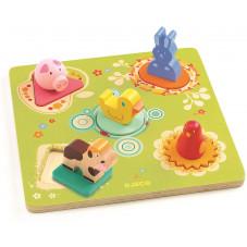 puzzle en bois bildi