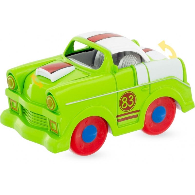 voiture à friction verte