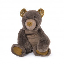 peluche ourson gris moulin roty