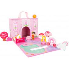 valise chateau de princesse