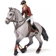cheval et cavalière papo