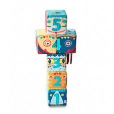 6 Cubes D'Activités Totem