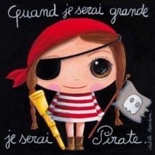 Cadre Pirate Fille