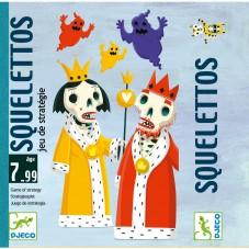 Squelettos jeu de cartes djeco