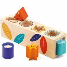 Boîte à formes bois boîtabasic Djeco