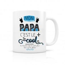 Mug papa cool créa bisontine