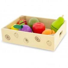 Fruits à découper jouet d'imitation