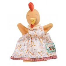 Marionnette poule félicie moulin roty