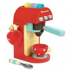 Machine à café jouet bois