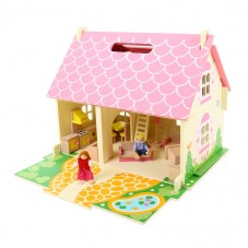 Maison de poupées bois