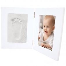 Kit d'empreintes cadre blanc bb&co