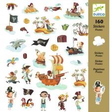 Stickers pirates djeco