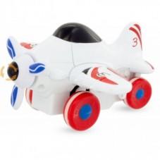 Avion Hélice Blanc