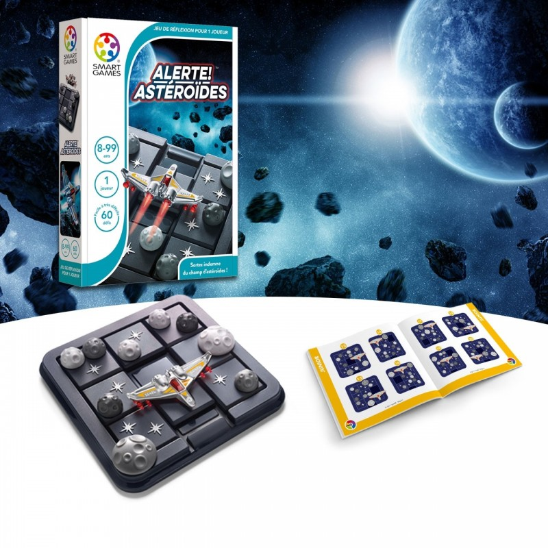 alerte astéroïdes smartgames