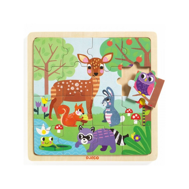 Puzzle forest djeco