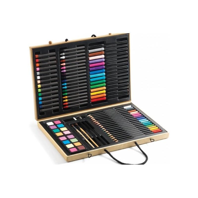 Boîte de couleurs Djeco