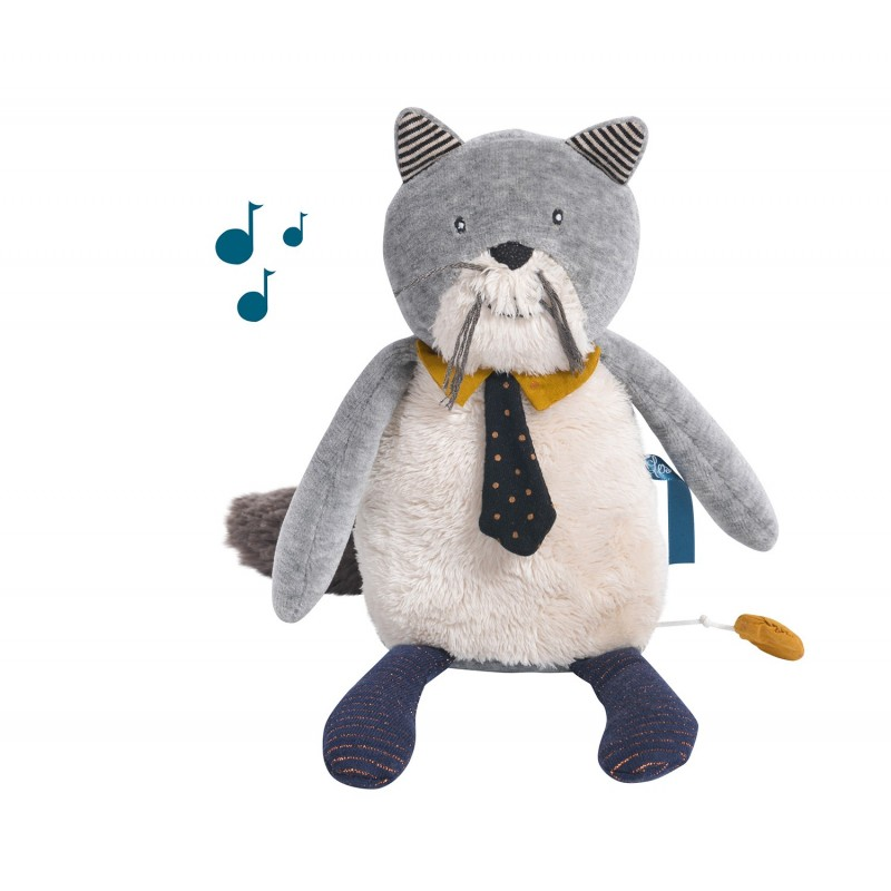 Peluche musicale chat