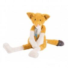 Doudou petite chaussette renard