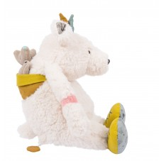 Peluche musicale ours pom