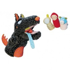 Marionnette Loup