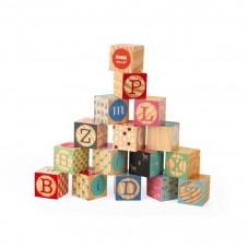 cubes bois alphabet