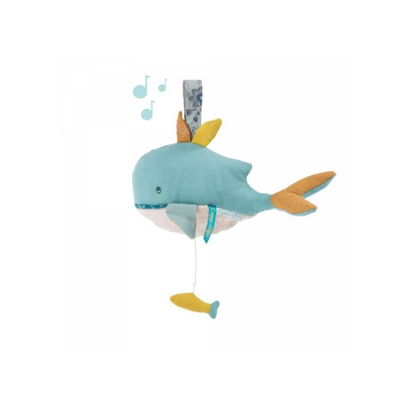 Poupée musicale Joséphine la baleine
