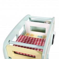 camion bois toy van