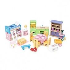 Set d'ameublement maison de poupée
