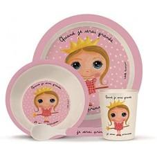 Set vaisselle enfant princesse