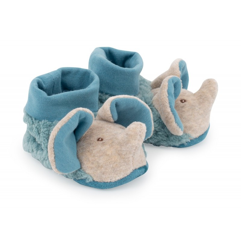 Chaussons Bergamote éléphant Moulin Roty