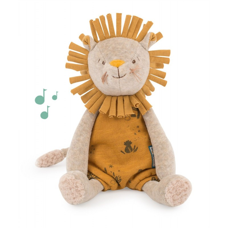 peluche musicale lion moulin roty