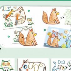 Collage et dessins Djeco