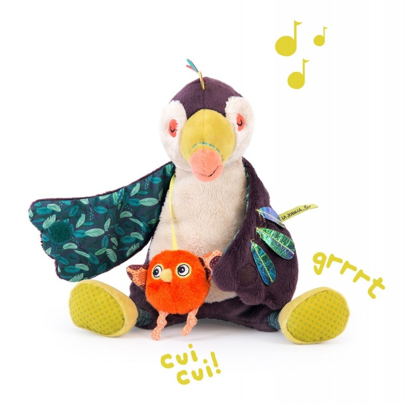 Pakou oiseau toucan