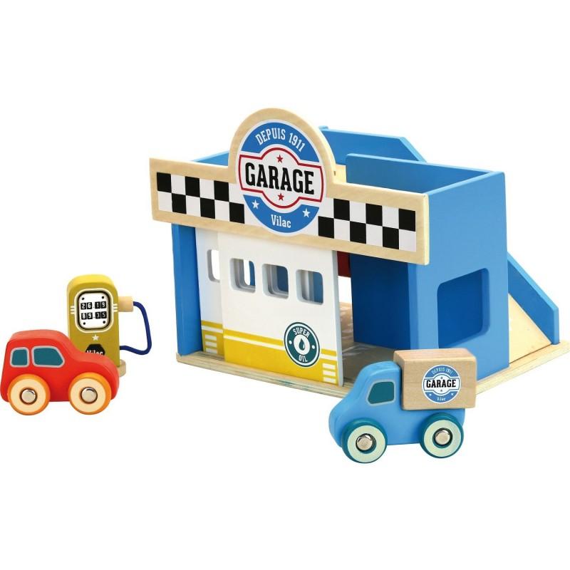 Le petit garage en bois Vilac