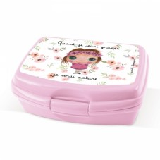 Lunch box nature fille