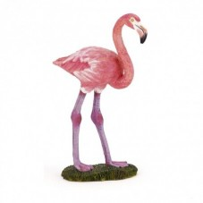 Figurine Flamant Rose
