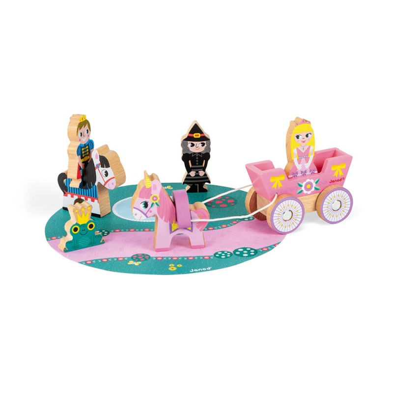 set princesses story janod