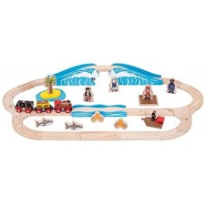 Circuit de train pirate