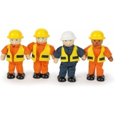 figurines de chantier