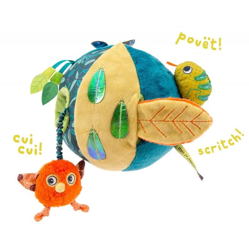 jouet d'éveil dans la jungle