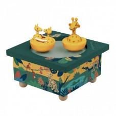 Boîte à Musique Girafe Savane