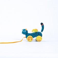 jouet à tirer moulin roty