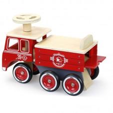 porteur bois camion de pompier vilac
