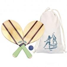 set raquettes de plage vintage vilac