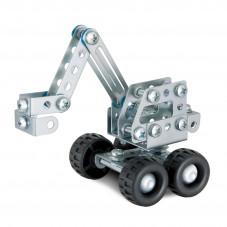 pelleteuse en métal à construire meccano