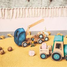 camion dépanneuse en bois ignace lilliputiens