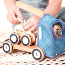 Camion lilliputiens jouet bois jouet d'éveil 2 ans
