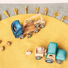 tracteur engin de la ferme jouet en bois lilliputiens